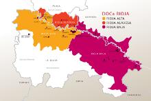 Riocha Wein Gebiet