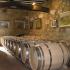 Ausbau im neuen Eichenfässern, Miguel Merino, Rioja Alta, Spanien